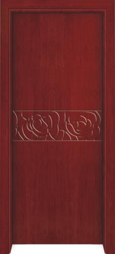 素雅系列204-实木烤漆门